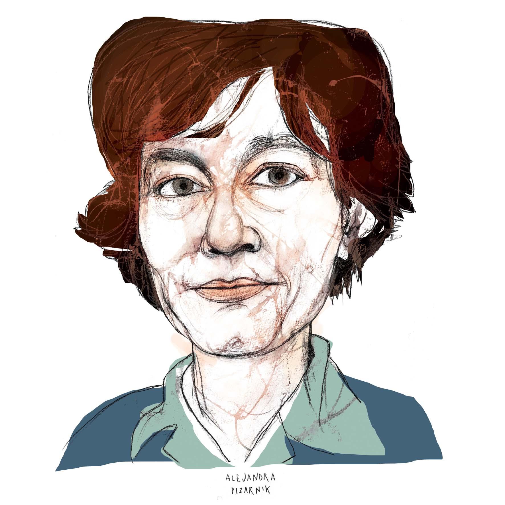 Alejandra Pizarnik cuadrado