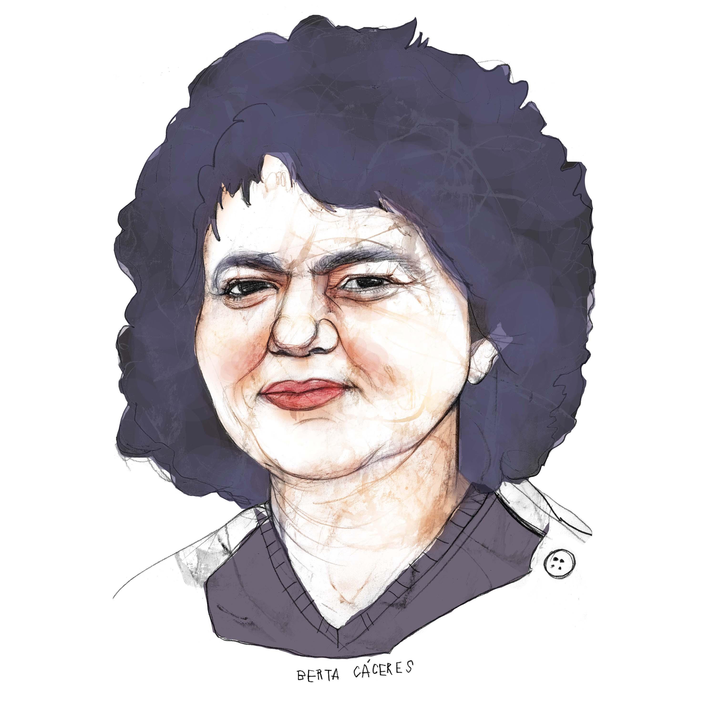Berta Cáceres cuadrado